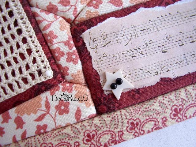 portafoto patchwork senz'ago chiave di violino 4-001
