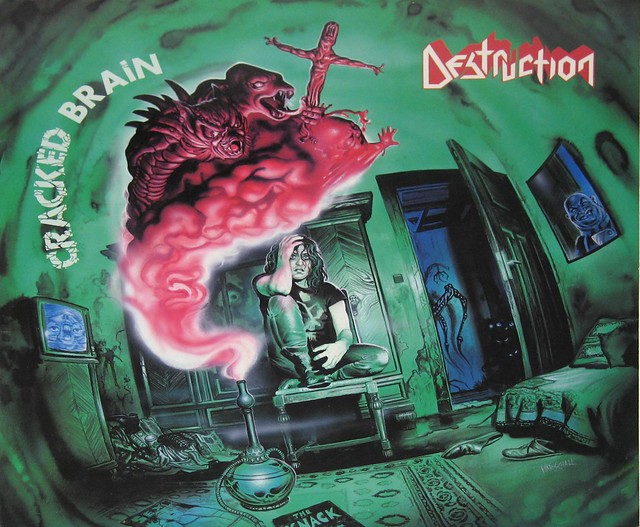 "Destruction Cracked Brain 12"" VInyl LP"
