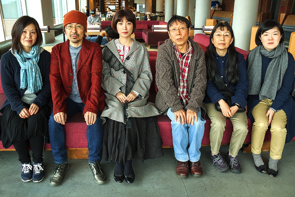 Japanese writers in NYC--Lower East Side