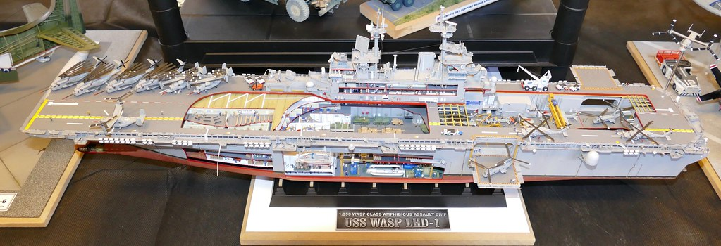 USS Wasp cutaway. . .