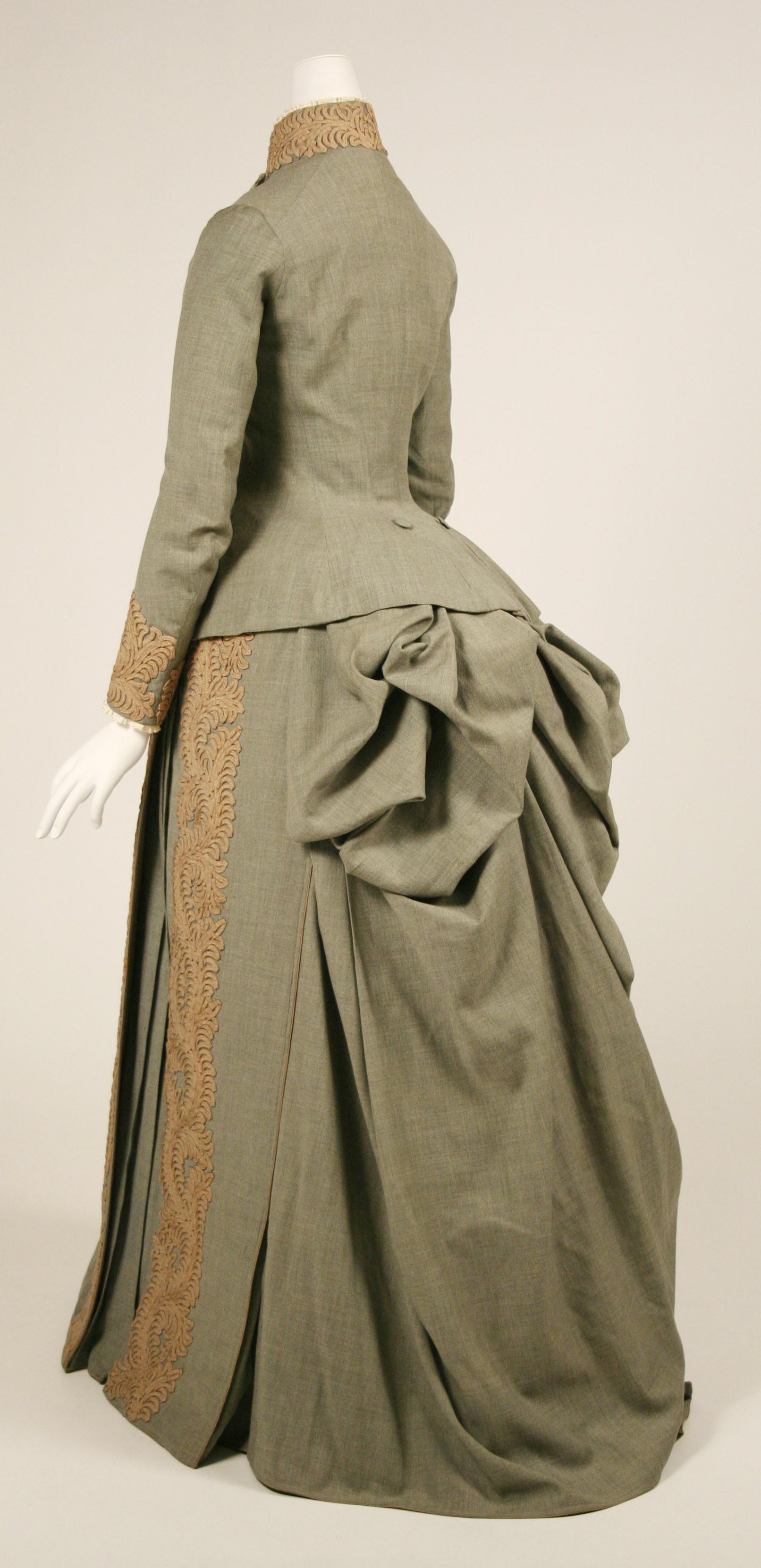 Mrs Andrew Carnegie's Wedding Dress