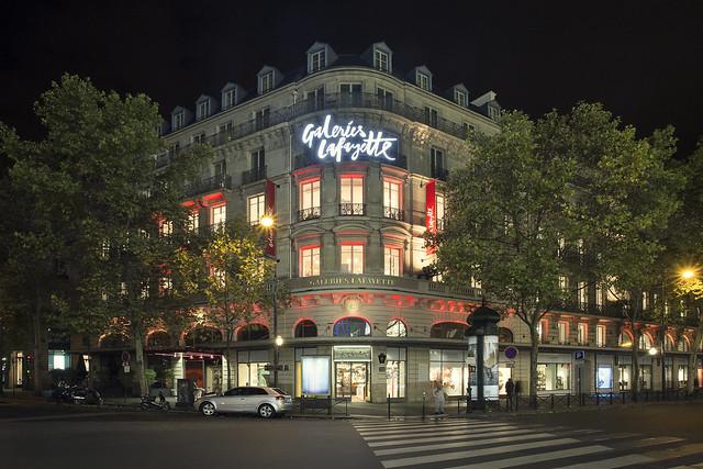 Galeries Lafayette Haussmann, Paris