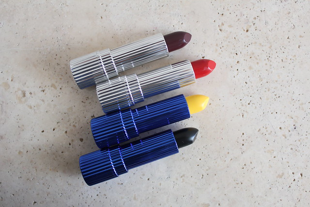 Estee Edit Mattified Lipsticks in Wrapped & You're Welcome