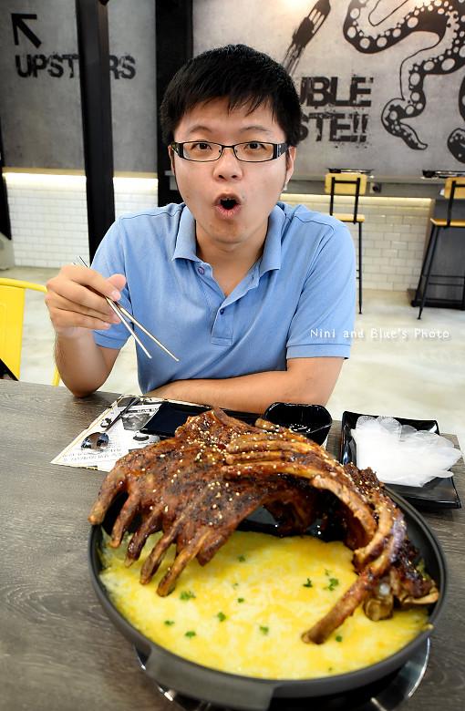 打啵G台中韓式料理烤肉串菜單menu價位16