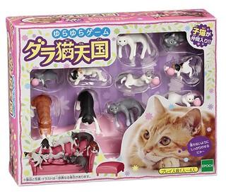 Epoch 「萌猫天國」 擺動遊戲組!ゆらゆらゲーム ダラ猫天国