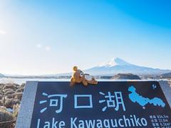 2016-02-11 富士急 山中湖 富士山