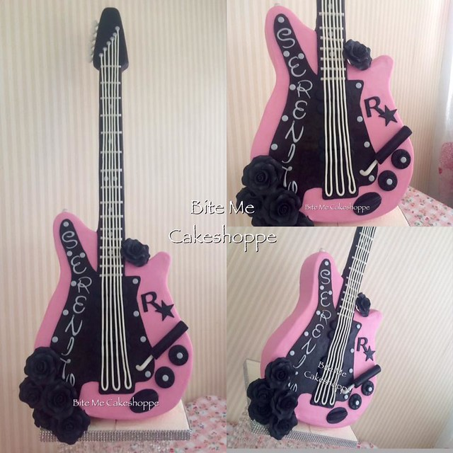 Popstar Guitar by Bite Me Cakeshoppe