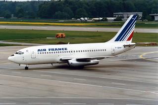 Air France Boeing 737-200 F-GBYH
