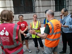 John briefing the marshalls