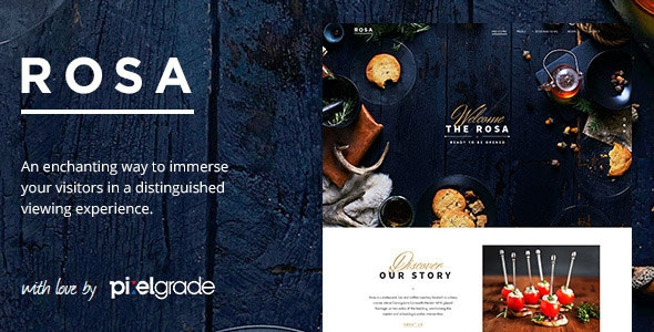 ROSA v2.2.6 - An Exquisite Restaurant WordPress Theme