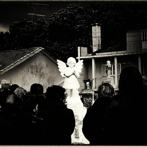 Anjo #estatua #anjo #pretoebranco