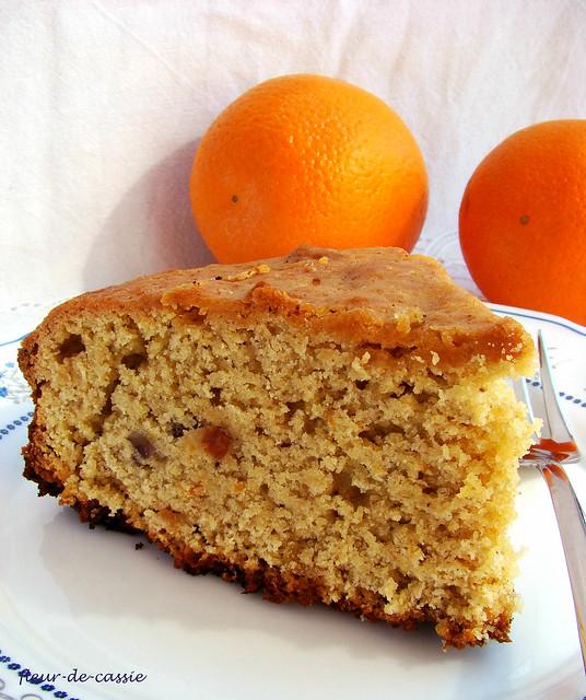 апельсиновый пирог с тхиной 1