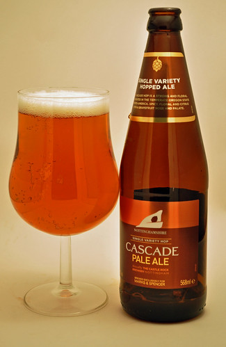 Marks and Spencer Cascade pale ale