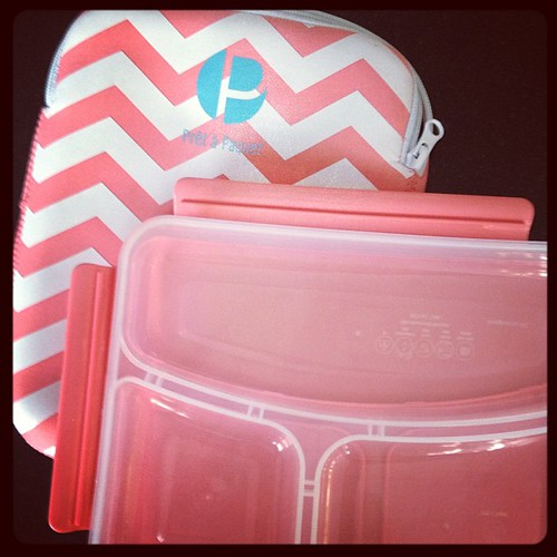 Picked up this lunchbox for myself #target #chevron