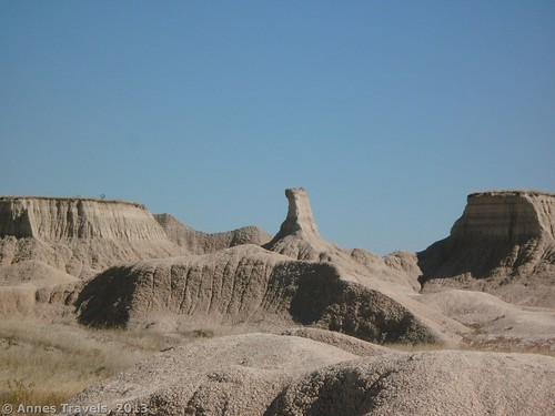 Formations along the Castle Trail, Badlands National Park, South Dakota