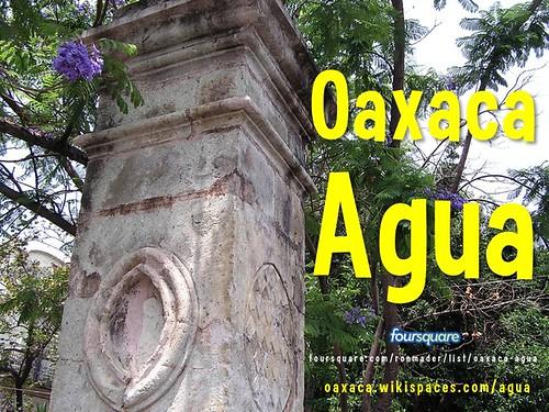 Oaxaca Wiki: Agua = Water