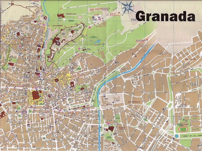 Grande Mapa de Granada