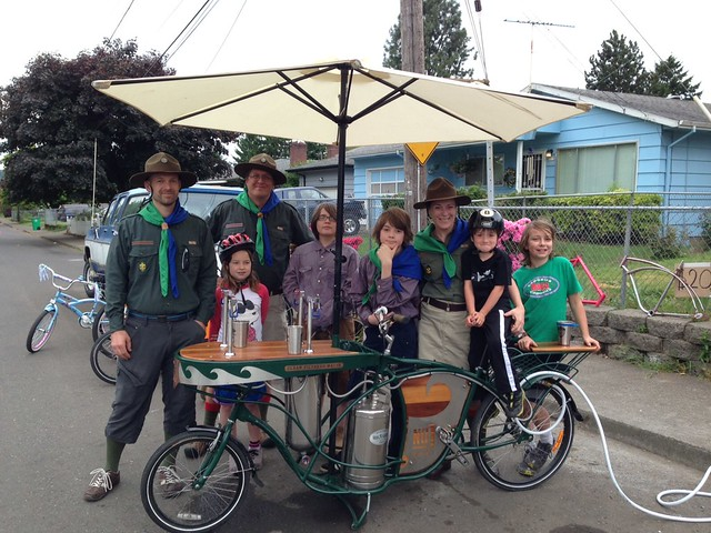 Hydrofiets and 55th Cascadia scouts
