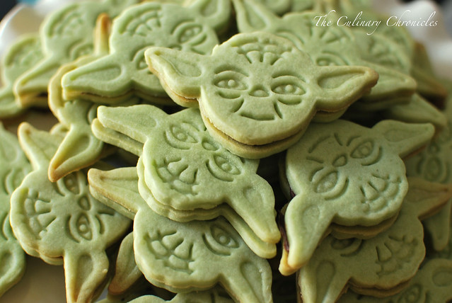 Yoda Sandwich Cookies