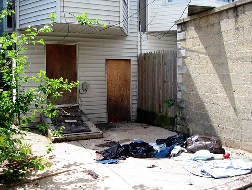 distressed neighborhood in Baltimore (by: FK Benfield)