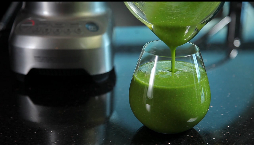 Green Smoothie Juice Recipe from Breville