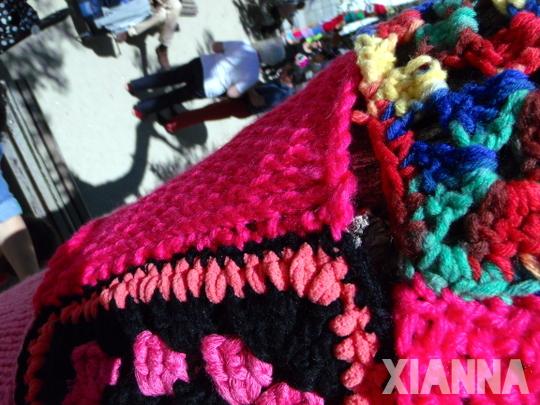 Encontrado uno de mis cuadros de lana