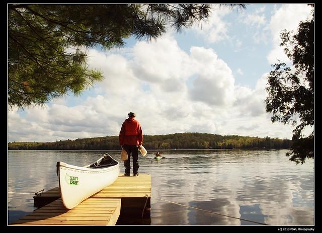 Canoe season