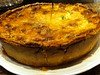 roquefort leek quiche