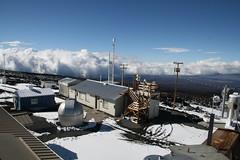 夏威夷Mauna Loa觀測站。 照片提供:美國NOAA-ESRL