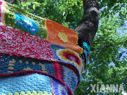 Detalle cuadros de lana