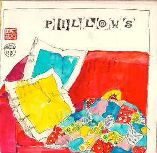EDiM #13 pillows