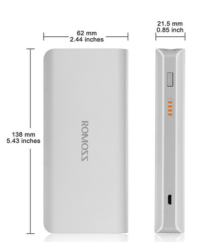 Romoss batterie