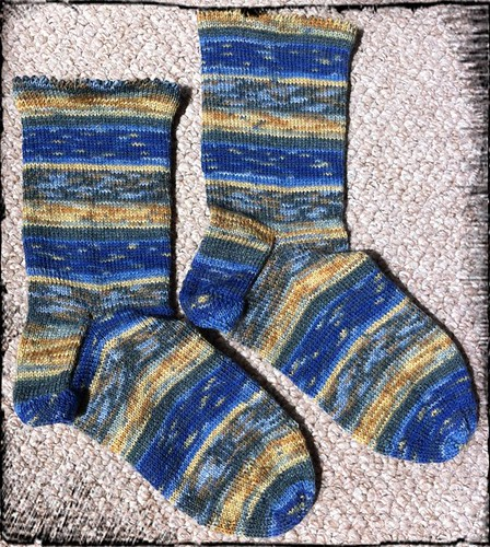 Art Gallery Socks by Beatrixknits