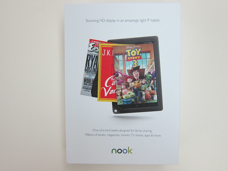 Nook HD+ - Box Back
