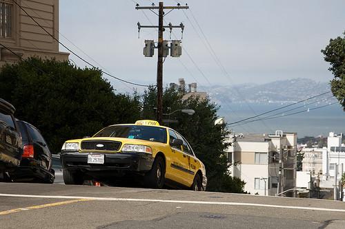 Cab in San Francisco