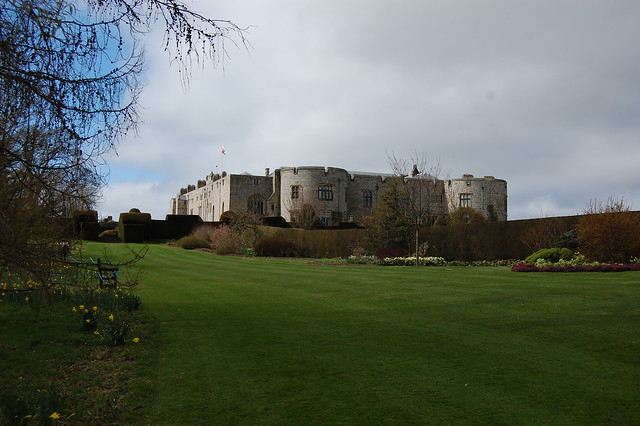Chirk Castle, viewed from the gardens