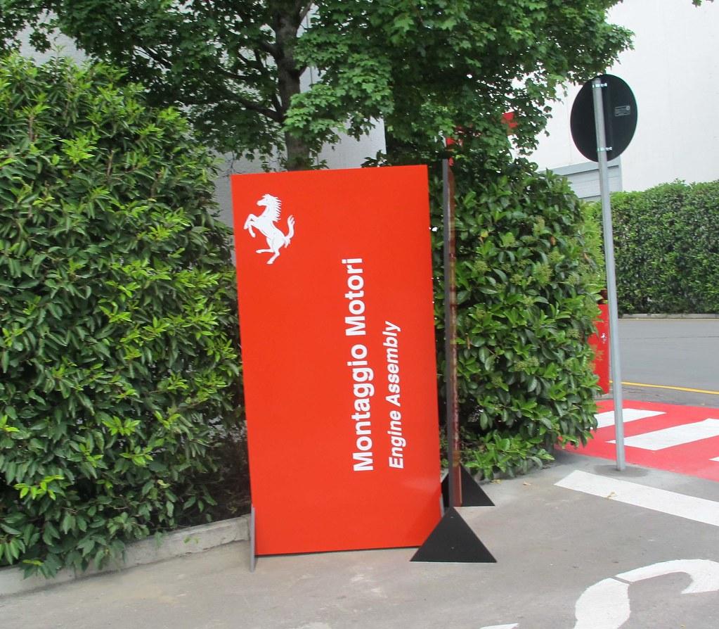 Ferrari Factory Tour in Maranello