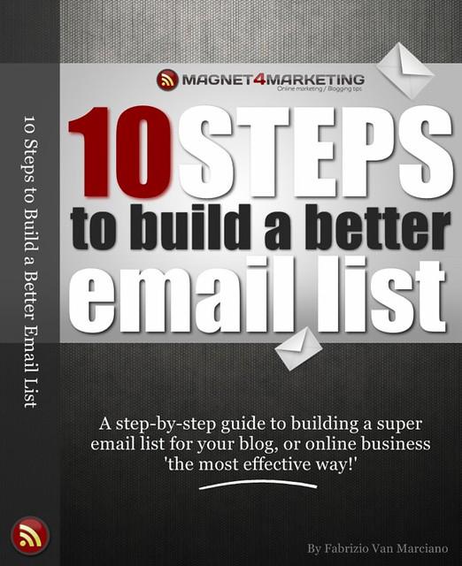 Build an Email List eBook