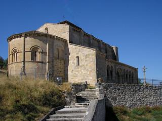 Iglesia de San Miguel, en Fuentidueña.