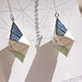 LeeMo Handmade Origami Earrings Sparkly