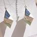 LeeMo Handmade Origami Earrings Sparkly