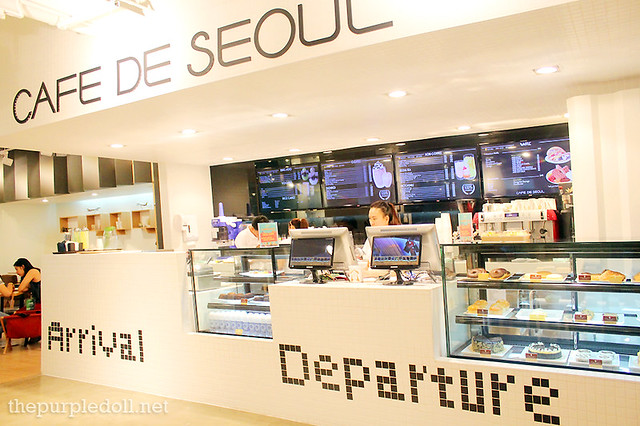 Cafe De Seoul Counter