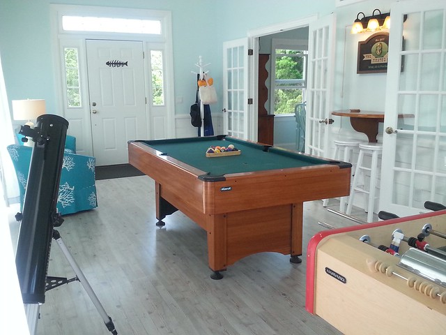 Stranded on Purpose Beach House Game Room