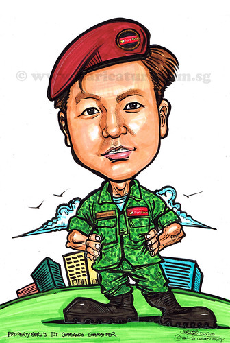 commando caricature for PropertyGuru (watermarked)