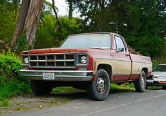 automobile, automotive exterior, pickup truck, vehicle, truck, dodge ramcharger, bumper, land vehicle, motor vehicle,