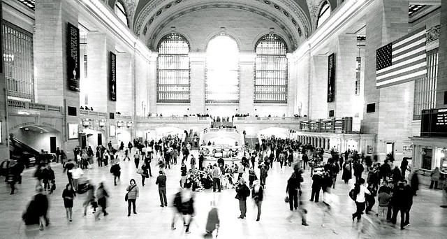 Chaos in Grand Central