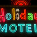 Holiday Motel by Curtis Gregory Perry