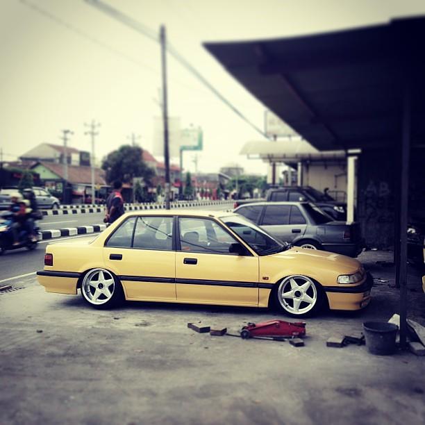 Ef Civic Sedan: #honda #civic #ef #efsedan #stance #stanced #stancelover