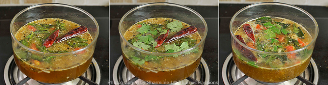 Garlic Rasam Recipe - Step4