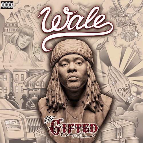 Wale 'The Gifted' (Album Cover)